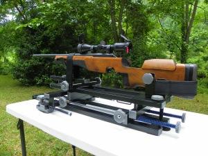 Hyskore Black Gun Machine Rest Competitive Shooting Load development shooting rest