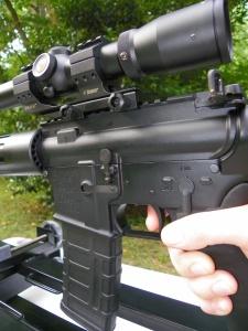 competitive shooting rest hyskore black gun machine rest load devleopment gun rest