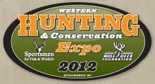 western hunting & conservation expo, mule deer hunting expo, salt lake city expo, hunting expo, 2012 hunting expo,  2012 salt lake city conventions, mule deer expo