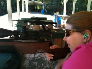 amy carducci, tikka master sporter, south river gun club, srgc, best tikka rifle, nosler ammo, custom ar rifle, surefire suppressor, ar with suppressor, weaver tactical scope