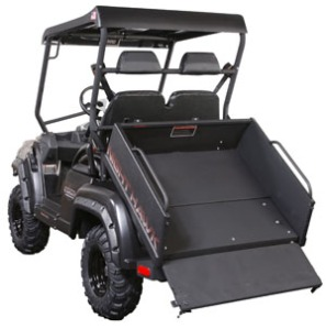 stealth dump bead, stealth atv, electric atv, hybrid atv, electric hunting vehicle