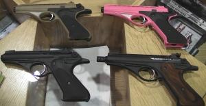 whitney wolverine, whitney wolverine .22lr pistols, 1950 handguns, .22lr pistols, olympic arms, whitney pistol, wolverine pistol