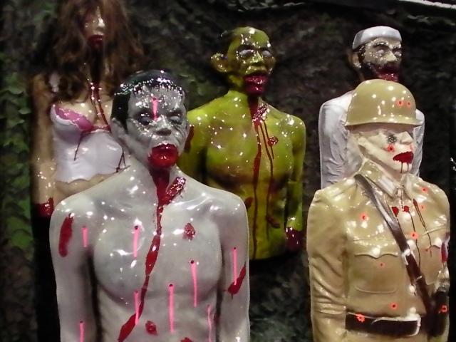 zombie industries, zombie targets, bleeding targets, life like targets, mutilating targets, zombies, zombie gear, zombie shooters assciation