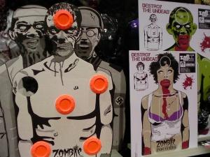 zombie industries, zombie targets, bleeding targets, outbreak targets, paper targets, zombie outbreak