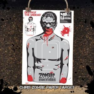 zombie industries, zombie targets, paper targets, paper zombie targets, best zombie targets