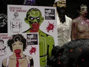 zombie targets, zombie industries, bleeding zombie targets